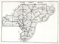 Clark County, Indiana State Atlas 1934