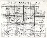 Clinton County, Indiana State Atlas 1934