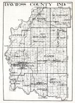 Daviess County, Indiana State Atlas 1934
