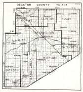 Decatur County, Indiana State Atlas 1934
