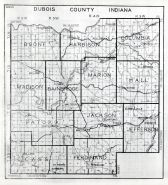 Dubois County, Indiana State Atlas 1934