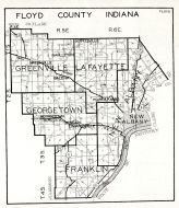 Floyd County, Indiana State Atlas 1934