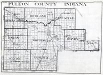 Fulton County, Indiana State Atlas 1934