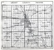 Grant County, Indiana State Atlas 1934