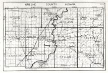Greene County, Indiana State Atlas 1934