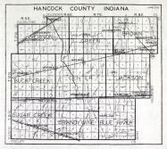 Hancock County, Indiana State Atlas 1934