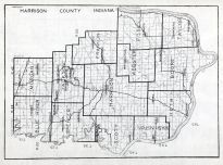 Harrison County, Indiana State Atlas 1934