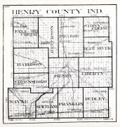 Henry County, Indiana State Atlas 1934