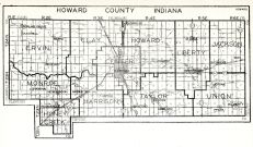 Howard County, Indiana State Atlas 1934