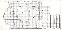 Jasper County, Indiana State Atlas 1934
