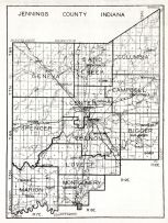 Jennings County, Indiana State Atlas 1934