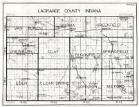 Lagrange County, Indiana State Atlas 1934