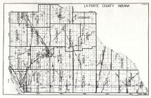 Laporte County, Indiana State Atlas 1934