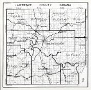 Lawrence County, Indiana State Atlas 1934