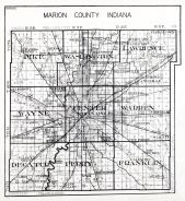 Marion County, Indiana State Atlas 1934