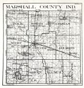 Marshall County, Indiana State Atlas 1934