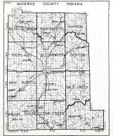 Monroe County, Indiana State Atlas 1934