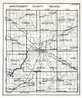 Montgomery County, Indiana State Atlas 1934
