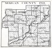Morgan County, Indiana State Atlas 1934