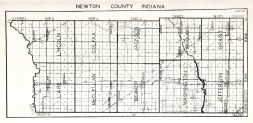 Newton County, Indiana State Atlas 1934