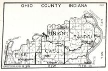 Ohio County, Indiana State Atlas 1934