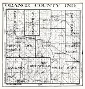 Orange County, Indiana State Atlas 1934