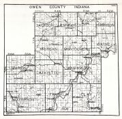 Owen County, Indiana State Atlas 1934