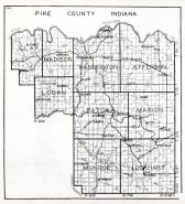 Pike County, Indiana State Atlas 1934