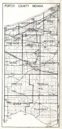Porter County, Indiana State Atlas 1934