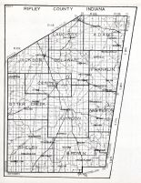 Ripley County, Indiana State Atlas 1934