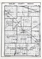 Shelby County, Indiana State Atlas 1934