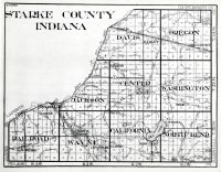 Starke County, Indiana State Atlas 1934