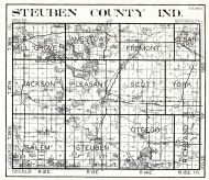 Steuben County, Indiana State Atlas 1934