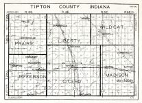 Tipton County, Indiana State Atlas 1934