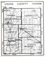Union County, Indiana State Atlas 1934