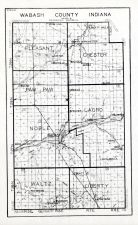 Wabash County, Indiana State Atlas 1934