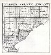 Warren County, Indiana State Atlas 1934