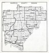 Warrick County, Indiana State Atlas 1934