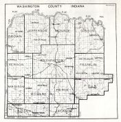 Washington County, Indiana State Atlas 1934