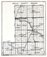 Wells County, Indiana State Atlas 1934