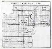 White County, Indiana State Atlas 1934