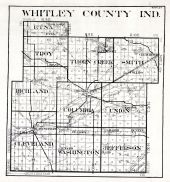 Whitley County, Indiana State Atlas 1934
