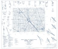 Boone County 1959 - Mechanicsburg, Rosston, Elizaville, Milledgeville, Gadsen, Fayette, Eagle Village, Indiana State Atlas 1958 to 1963 Highway Maps