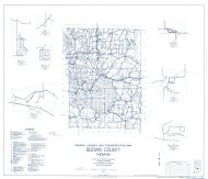 Brown County 1963 - Beck, Helmsburg, Trevlac, Indiana State Atlas 1958 to 1963 Highway Maps