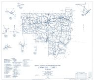 Crawford County 1962 - Taswell, West Fork, Grantsburg, Eckerty,, Indiana State Atlas 1958 to 1963 Highway Maps