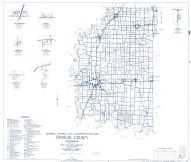 Daviess County 1961 - South Washington, Glendale, Hudsonville, Raglesville, Cornettsville, Epsom, Indiana State Atlas 1958 to 1963 Highway Maps