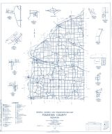 Fontain County 1960 - Rob roy, Stone Bluff, Fountain, Yeddo, Cates, Coal Creek, Silverwood, Riverside, Indiana State Atlas 1958 to 1963 Highway Maps