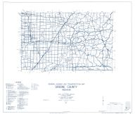 Greene County 1963, Indiana State Atlas 1958 to 1963 Highway Maps