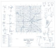 Hamilton County 1960 - Deming, Strawtown, Millersburg, Boxley, Clarksville, Jolietville, Eagletown, Hortonville, Indiana State Atlas 1958 to 1963 Highway Maps