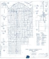 Jasper County 1961 - Fair Oaks, Kersey, Tefft, Parr, Stoutsburg, Kniman, Gifford, Demotte, Indiana State Atlas 1958 to 1963 Highway Maps